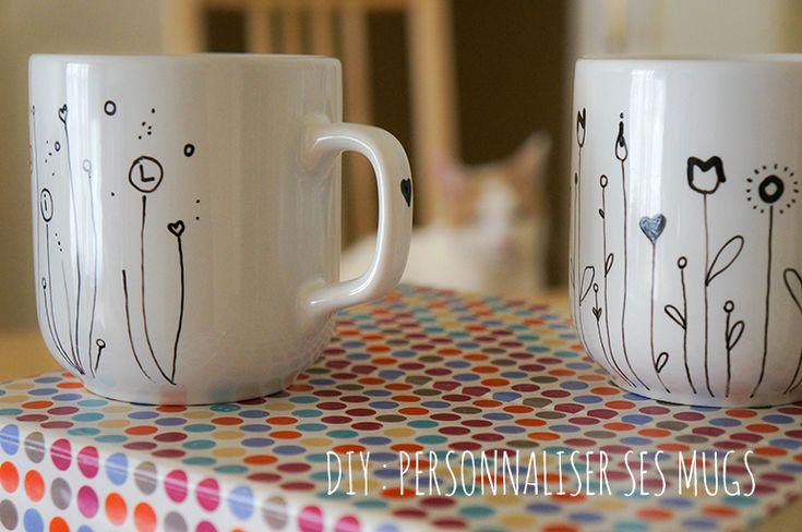 DIY Mugs personnalisés
