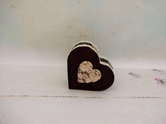 Heart Shaped Box Ring Bearer Box Outdoor Wedding Ring Box