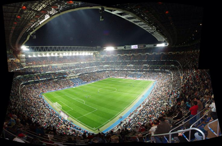 Setting: Santiago Bernabeu is the home of Real Madrid, where David Beckham used to play before moving to a different team in USA. This setting is exciting because Real Madrid played a lot of teams that are common around the world.
