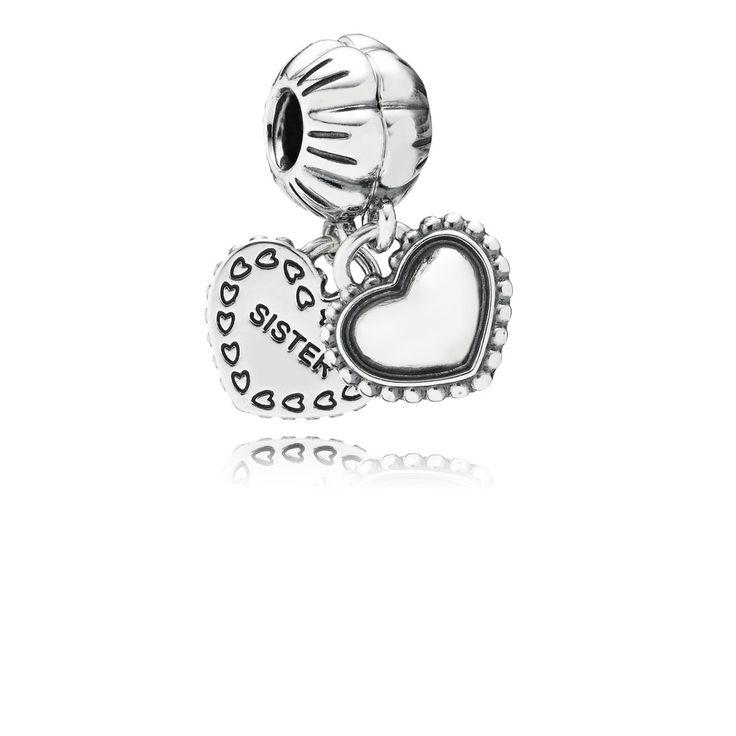 PANDORA My Special Sister Pendant Charm | Special price: £44.98 | Buy now: http://www.pandorasale2012.com/pandora-sister-charms-sale.html