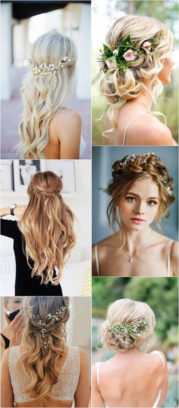 20 boho chic wedding hairstyles for your big day - page 2 of