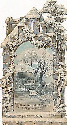 Glanzbilder - Victorian Die Cut - Victorian Scrap - Tube Victorienne - Glansbilleder - Plaatjes : Winter