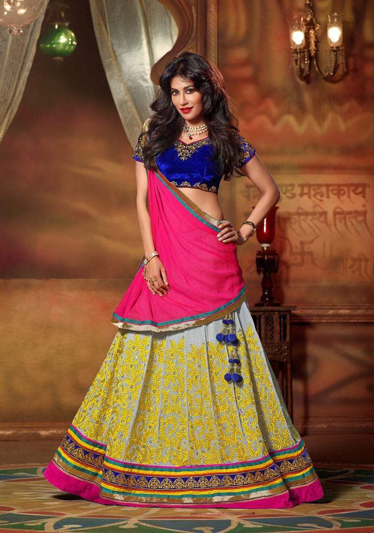 Pin By Gravity Fashion On Navratri Trends 2014 Chaniya
