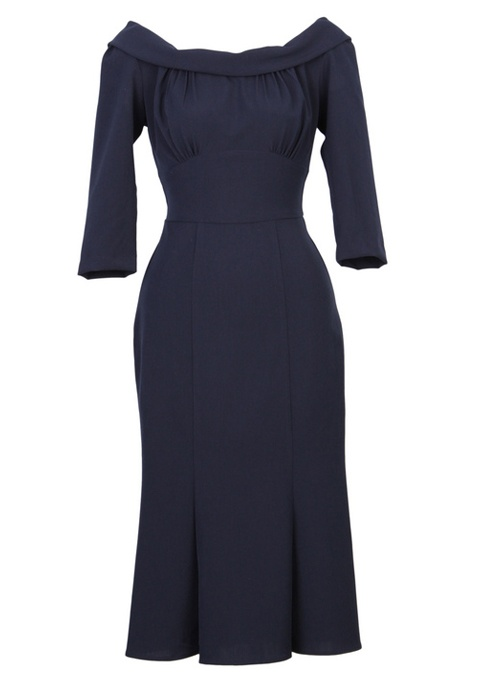 1930s style Tabatha Dress - Fashion 1930s, 1940s & 1950s style - vintage reproduction