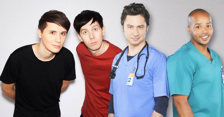 Who Said It - Dan & Phil Or Turk & JD?