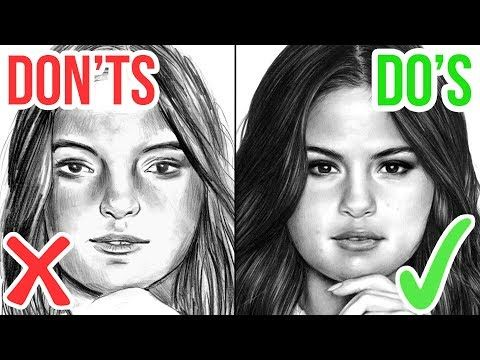 DO'S & DON'TS: How To Draw a Realistic Mouth / Lips | Step by Step Drawing Tutorial - YouTube