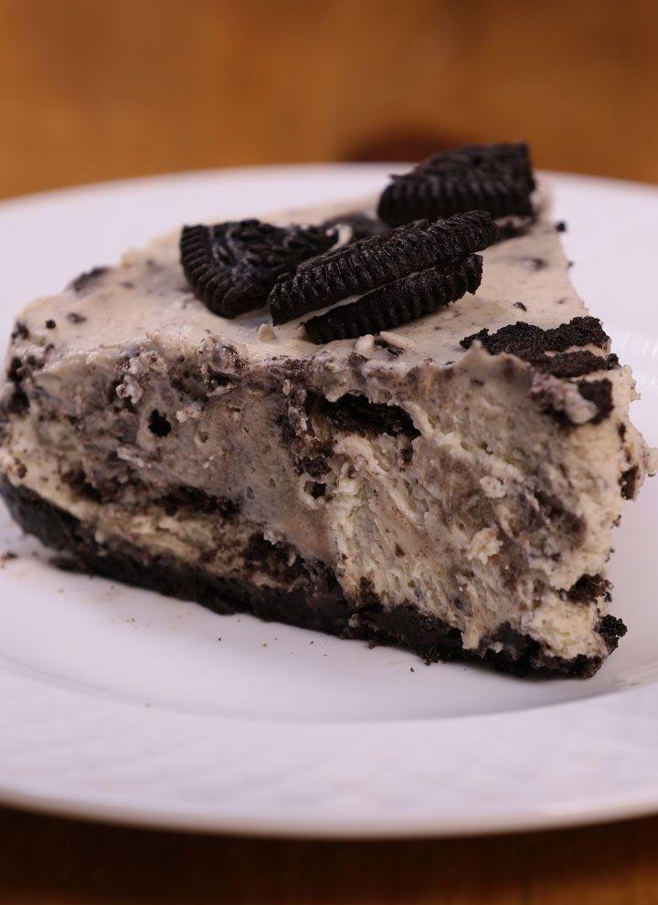 No Bake Oreo Cheesecake Pagkaing Pinoy Tv Recipe Oreo Cheesecake Baking Baking Recipes
