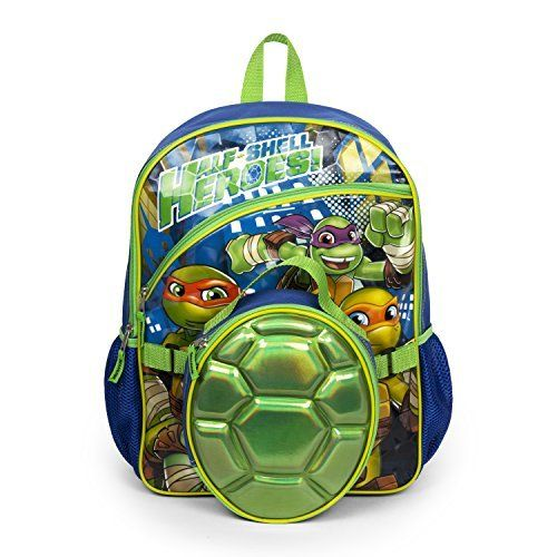 Nickelodeon Teenage Mutant Ninja Turtles Backpack with Insulated Shell Lunch Kit. #Nickelodeon #Teenage #Mutant #Ninja #Turtles #Backpack #with #Insulated #Shell #Lunch