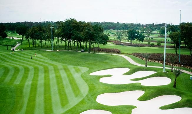Royale Jakarta Golf Course. Great course and very well maintained.