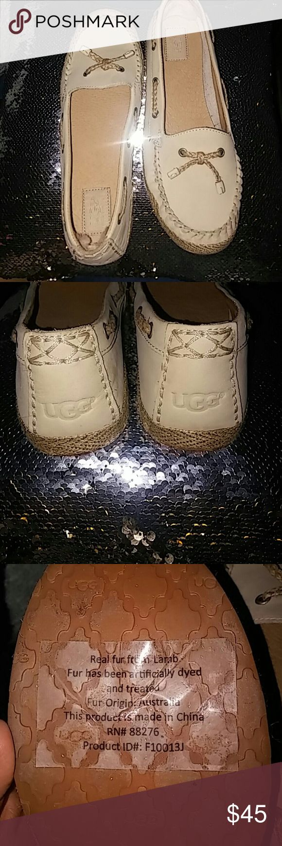 Ugg moccasins new New size 9 ugg moccasins used once in house UGG Shoes Flats & Loafers