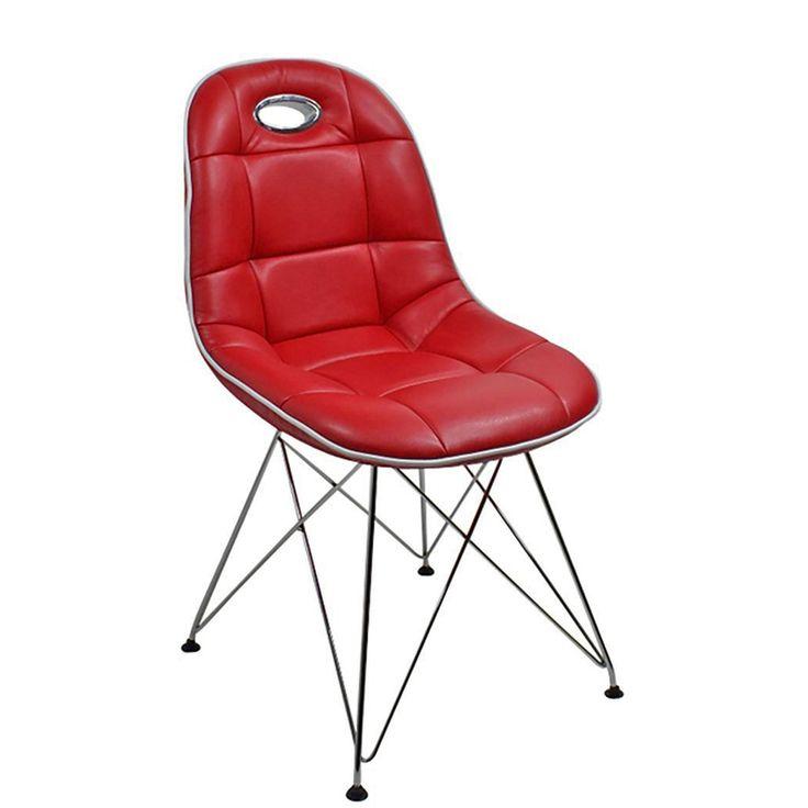 Esszimmer Stuhl 2 Stück Anja Kunstleder Rot Jetzt bestellen unter: https://moebel.ladendirekt.de/kueche-und-esszimmer/stuehle-und-hocker/esszimmerstuehle/?uid=7d46b1a1-94e4-5c3c-9410-9b9ae9c0cef9&utm_source=pinterest&utm_medium=pin&utm_campaign=boards #küchenstuhl #stühle #kueche #stuhl #günstig #kaufen #esszimmerstuehle #online #designer #esszimmer #hocker #stuehle