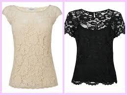 Resultado de imagen para blusas en blonda 2016