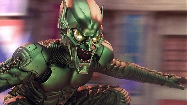 Duende verde versión metálica