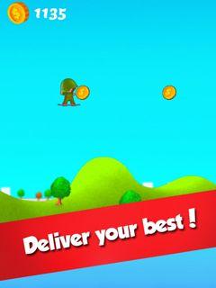Jogue Hover Jump online no Lejogos! Pegue sua prancha e faça seu caminho repleto de níveis e obstáculos. Nest jogo online em html5,você pode controlar o comprimento e a altura de seus saltos