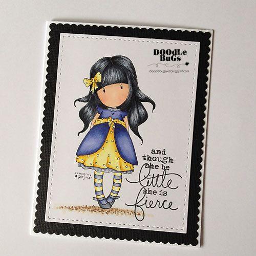 Doodlebugs: Gorjuss Ladybird Stamp Set