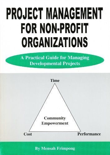 Project Management for Non-Profit Organizations