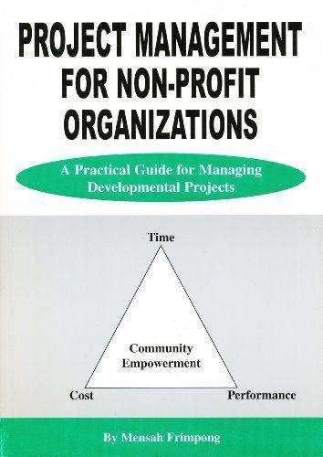 Project Management for Non-Profit Organizations