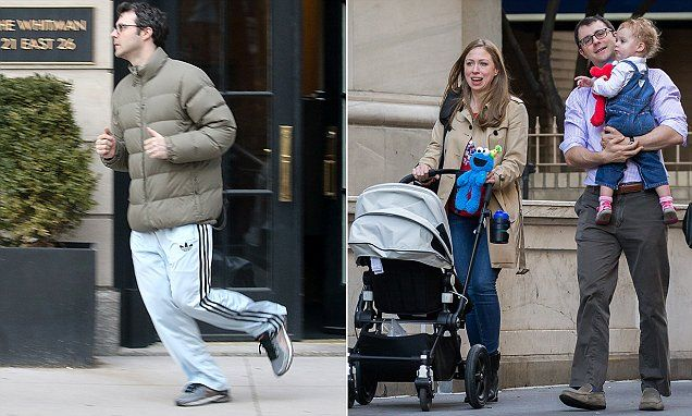 Out of work: Chelsea Clinton's husband Marc Mezvinsky shut down his hedge fund in December just weeks after Hillary lost election