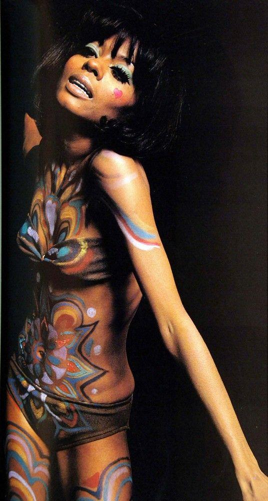 DIY Chocolate Body Paint