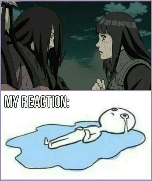 Naruto Shippuden » <3 » Meme + Moment | Neji's death: my reaction | #neji #hinata
