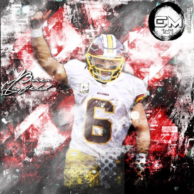 Baker Mayfield x Redskins. @baker_mayfield          #NFL #NBA #MLB #FIFA #NHL #Nike #Addidas #Jordan #sports #NYC #Pacers #Orioles #Colts #Chelsea #Predators #Wall #thisiswhyweplay #justdoit #allstar #USA #DC #edit #Heat #Finals #Jersey #MVP #Lonzo