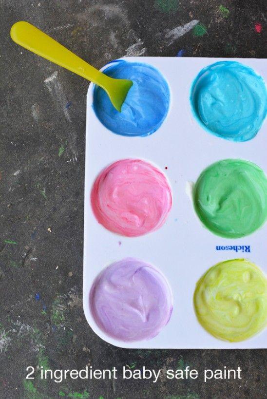 Wie Essbare Farbe für Babys und Kleinkinder machen