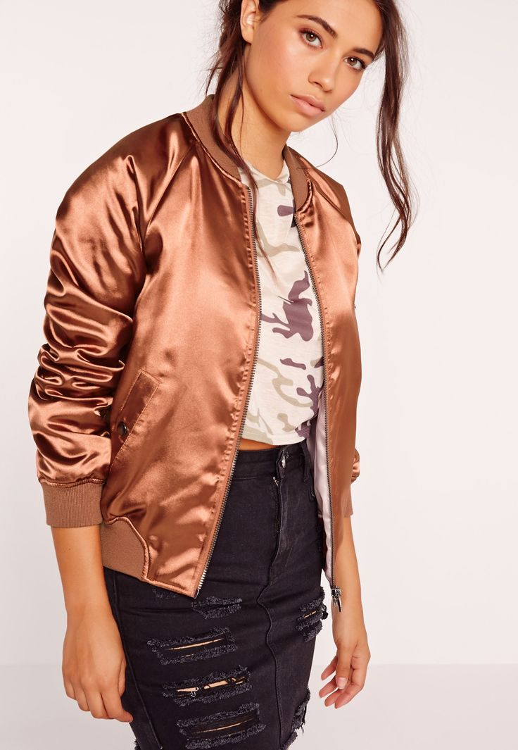 The American bomber jacket is getting serious this season, so go bold or go home in this pretty premium! This jazzy jacket will add a touch of…