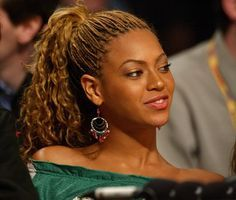 Queen Bey was young and free with her micro braids, and inspired teen girls to strive for the same.