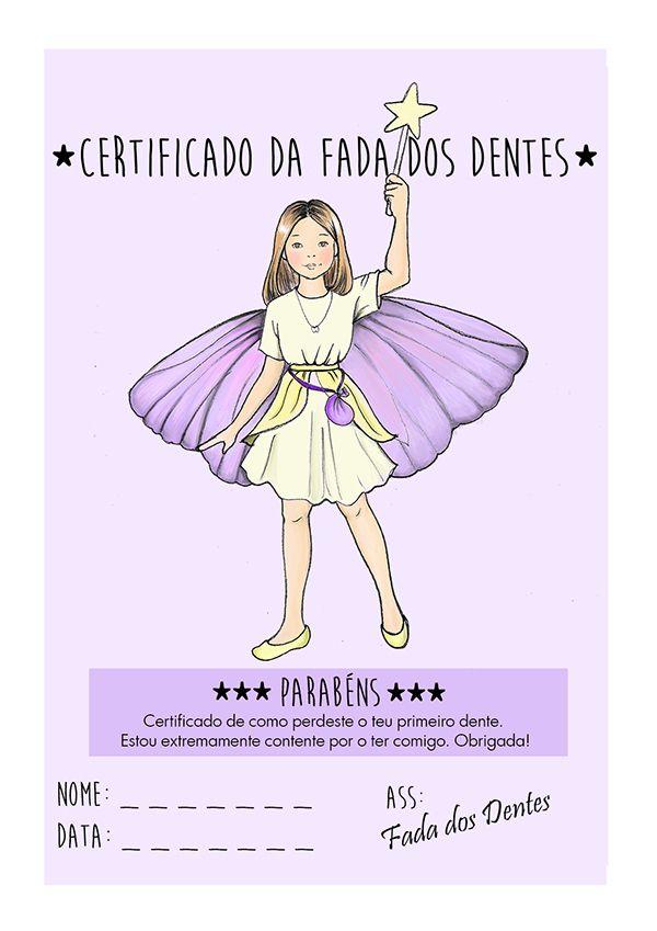 Ilustração fada dos dentes - tooth fairy illustration