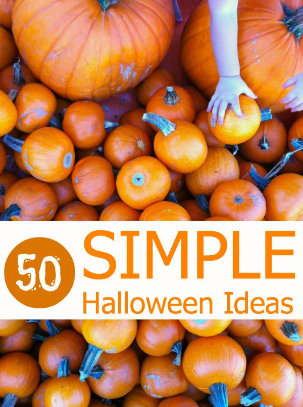 Simple Halloween Ideas for Kids
