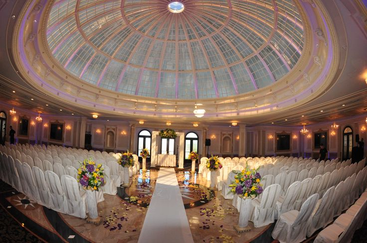 Dome room ceremony ceremonies at jericho terrace for Terrace 167 wedding venue