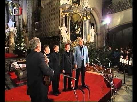 """Spirituál kvintet - vánoční koncert """"V jeslích dítě spinká"""" (1995)"""