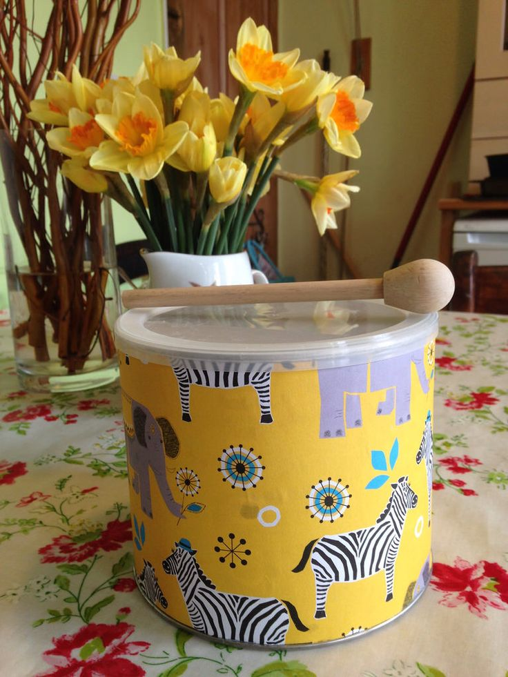 Coffee canister drum