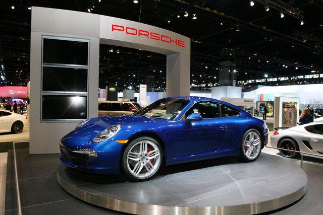 Porsche - Chicago Auto Show 2012 - Pin by Alpine Concours