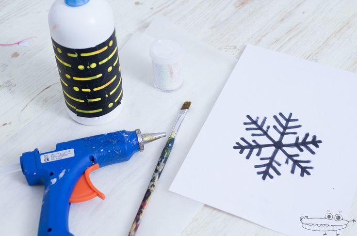 Materiales copo de nieve de silicona ideas para navidad - Copos de nieve manualidades ...