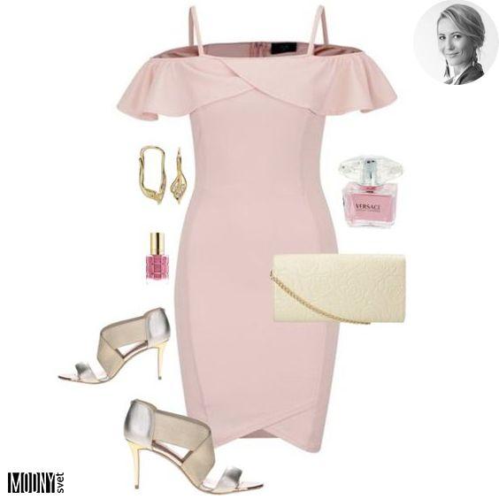 Ružové šaty s odhalenými ramenami – MODNYSVET