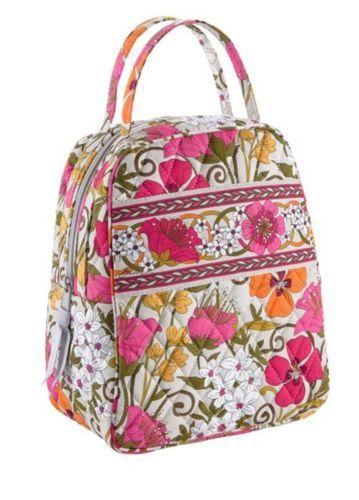 Vera Bradley Let 39 S Do Lunch Bag Tea Garden New Nwt