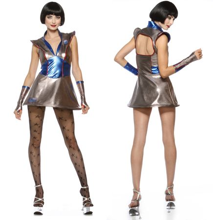 "LIP SERVICE Costume Vault ""Galaxy Girl"" mini dress #97-280"