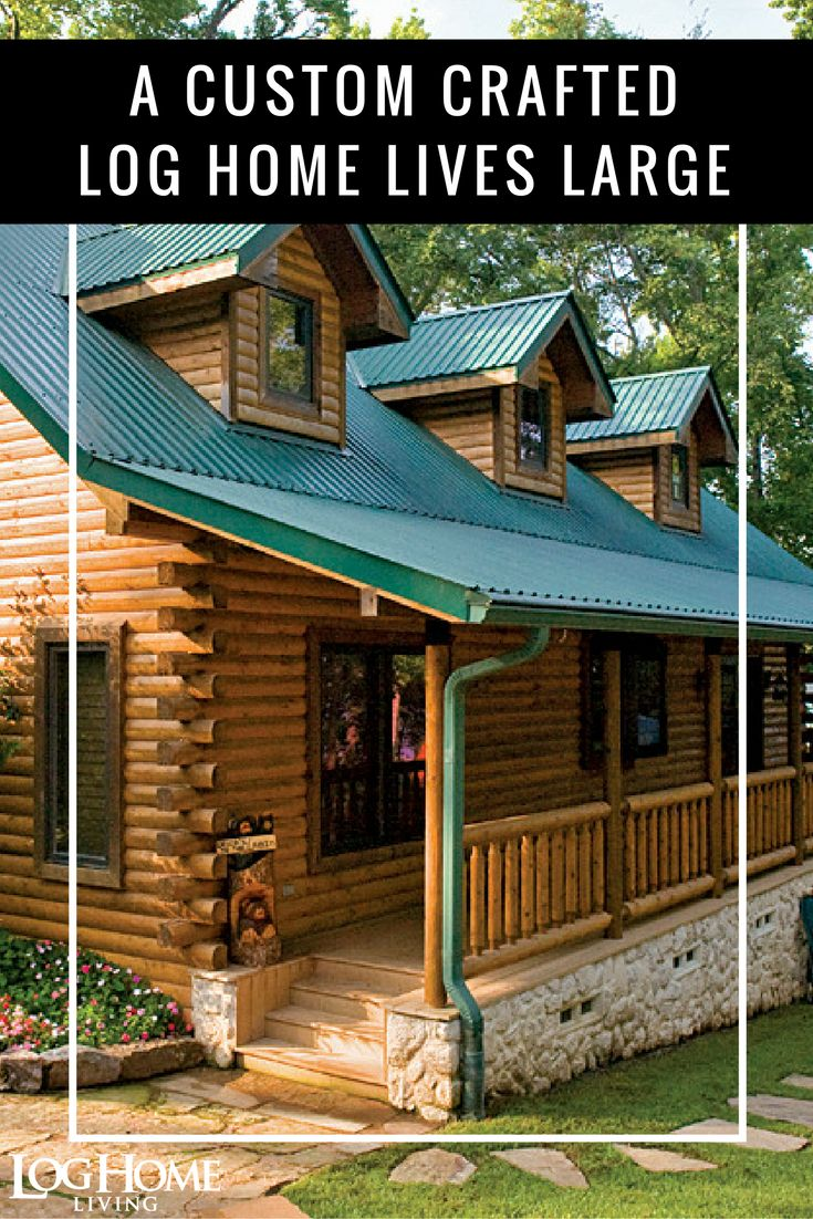 28 best log home kitchens images on pinterest log cabins log homes and dream kitchens Log home design ideas magazine
