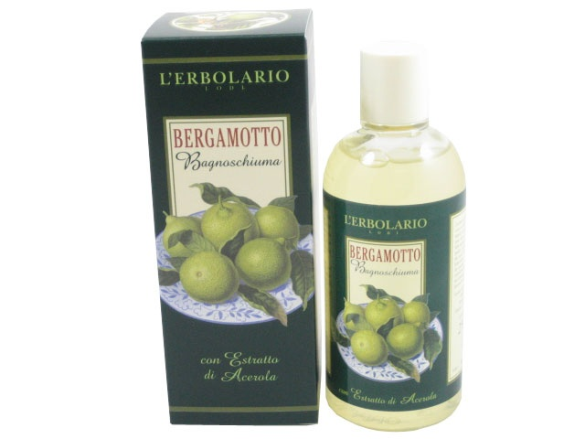 Bergamotto (Bergamot) Bath and Shower Foam with Acerola Extract by L'Erbolario Lodi #herbal #beauty