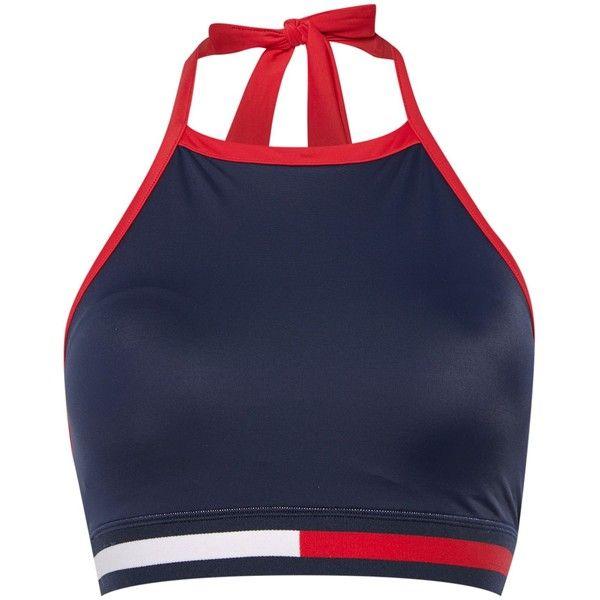 Tommy Hilfiger Hanalei Sport Bikini Brief ($51) ❤ liked on Polyvore featuring swimwear, bikinis, bikini bottoms, sport bikini, sports swimwear, swim bikini bottoms, sports bikini and bikini bottom swimwear