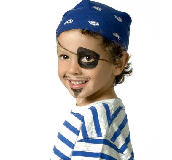 Como Maquillr Niños de Piratas2