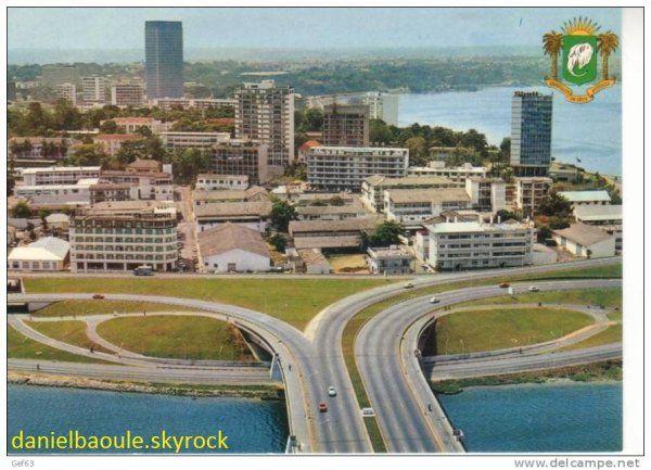 Pont du Général DE GAULLE [1967]- Abidjan - Côte d'Ivoire.
