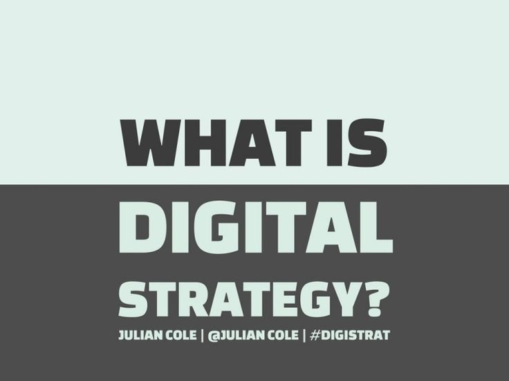 What is Digital Strategy? presentation explains the role of digital strategy in easy to understand language.  This is a presentation from the online course 'Cr…