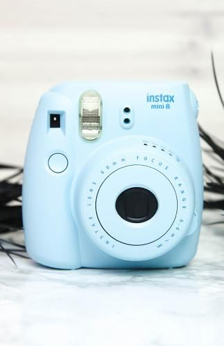 Fujifilm - Instax Mini 8 Camera - Blue - This is the colour I want