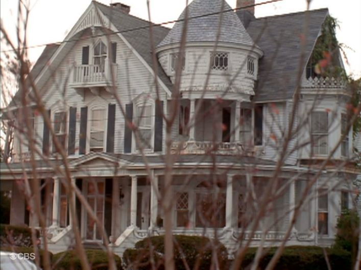 Spellman house from Sabrina the Teenage Witch TV series - I always thought it would be the coolest place to live.