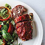 Cheesy Meat Loaf Minis Recipe   MyRecipes.com