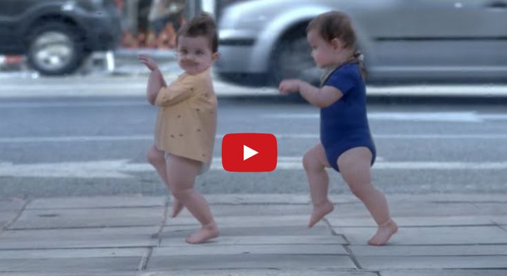 Stay young! Have a great laugh! | Hands Down, This Is The Cutest, Most Fun Commercial Of All Time.  Watch This!: Evian Film, Cute Baby, Evian Baby, Film Still, Dance Baby, Funny Commercial, Funny Stuff, Funny Baby, Inner Child