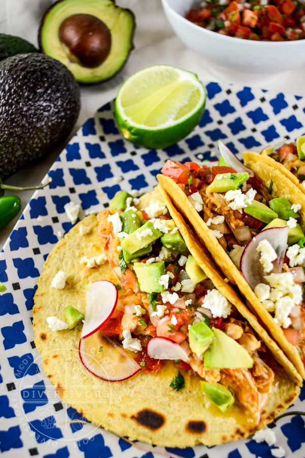 Authentic Mexican that's easy to make any night of the week. As an extra bonus, it can be made into tacos, quesadillas, tlayudas, tortas, and more, and it makes incredible leftovers. #chicken #Mexican #healthy