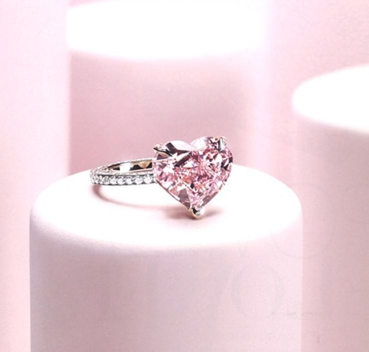 best shaped hearts pink cute pinterest images rings heart promise infinity on